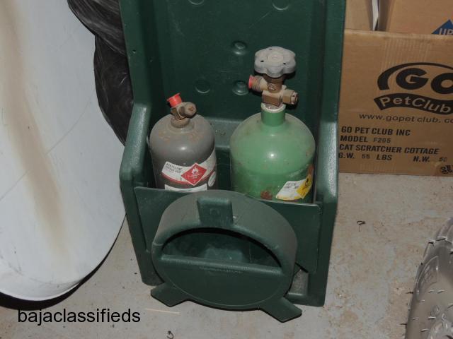 Oxy/Acetylene tanks