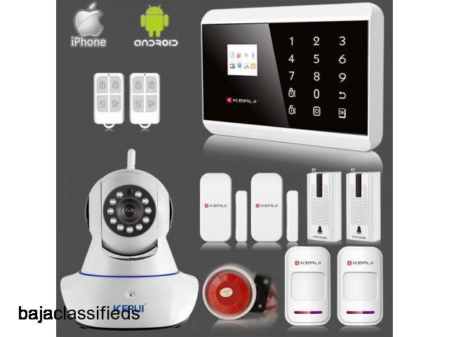 Protect your home with a security system